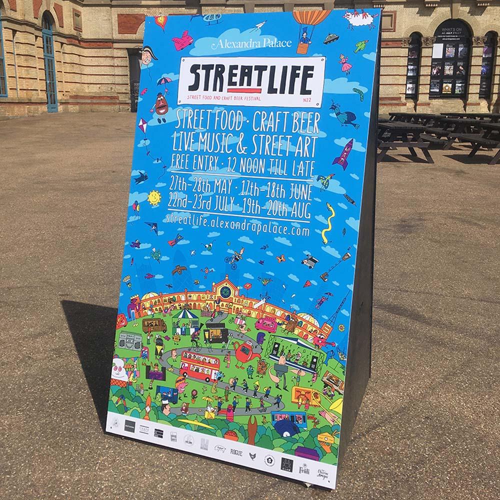 Sokak yemeklerinin, sanatın ve müziğin buluştuğu festival