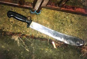 Kuzey Londra'da polis operasyonu: Araçtan pala atıldı