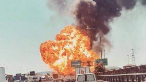 İtalya'daki havaalanı yakınında patlama!
