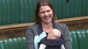 Bir milletvekili parlamento oturumuna bebeğiyle katıldı