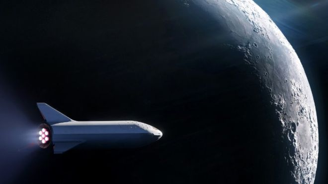 Elon Musk unveils first tourist for SpaceX 'Moon loop'
