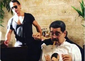 Nusr-Et, Venezuela'yı karıştırdı
