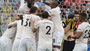 United, Watford'u evinde yıktı: 2-1