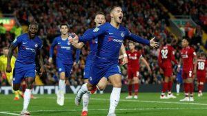 Hazard'ın füzesi Liverpool'u kupanın dışına itti