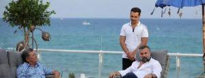 Ünlü sanatçı Ercan'da 45 dakika bagaj bekledi