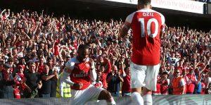 Arsenal Mesut'la kazandı