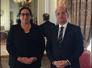 TC Büyükelçisi Bilgiç, KKTC Londra Temsilcisi Tuncalı'yı tebrik etti
