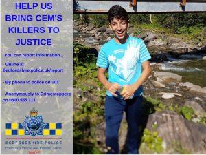 Polis, Bedford'ta öldürülen Cem'in katillerini arıyor!