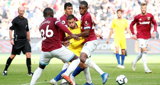 Chelsea, West Ham United ile 0-0 berabere kaldı