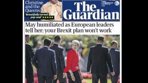 İngiliz basını: Başbakan May, AB zirvesinde 'rezil oldu'