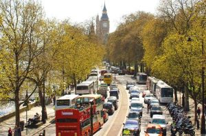 London almost has same amount of trees and people