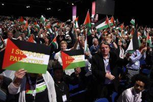 İşçi Partisi'nin Kongresi'nde Filistin'e destek çağrısı