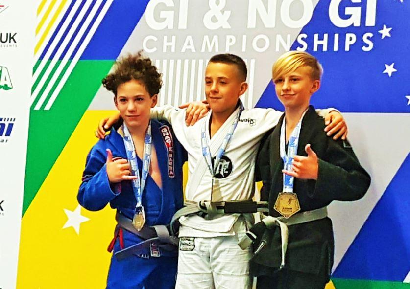 Genç Kıbrıslı, Jujitsu Avrupa Şampiyonası'nda gümüş madalya kazandı