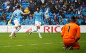 Manchester City, Cardiff City'i deplasmanda 5-0 yendi