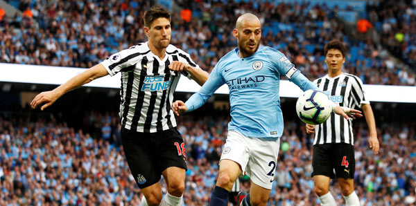 Manchester City-Newcastle: 2-1