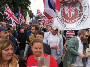 UKIP leader Gerard Batten criticised by Nigel Farage for endorsing anti-Muslim rally