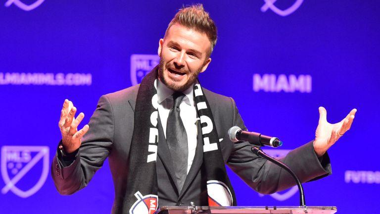 """Beckham'ın takımının adı """"Inter Miami"""""""