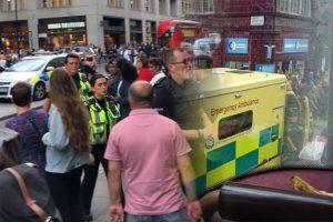 Oxford Circus metro istasyonunda kaza: 1 kişi hayatını kaybetti