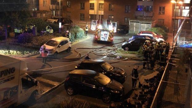 Güneydoğu Londra'da yangın: 1 kişi öldü
