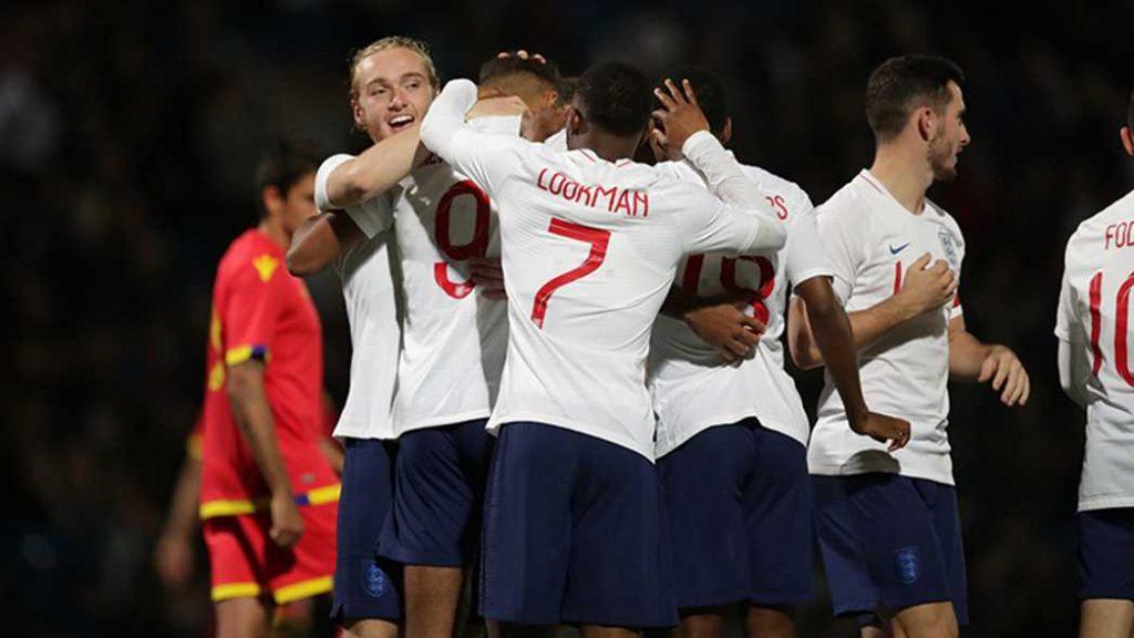 İngiltere U21 takımı  7-0 galip geldi