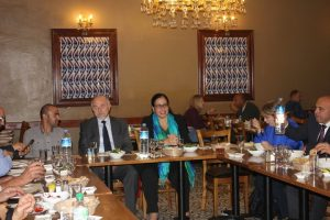 Turkish Cypriot Friends of Labour Party held a meeting