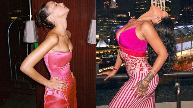 Rihanna'dan Bella Hadid pozu