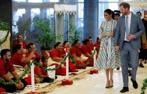 Prens Harry ve Meghan çifti, 'Sivrisinek Karşıtı' şarkıyla karşılandı