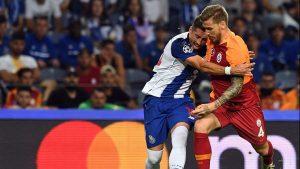 Galatasaray kaçırdı, Porto attı