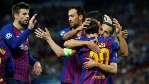 Tottenham, Barcelona'ya dayanamadı