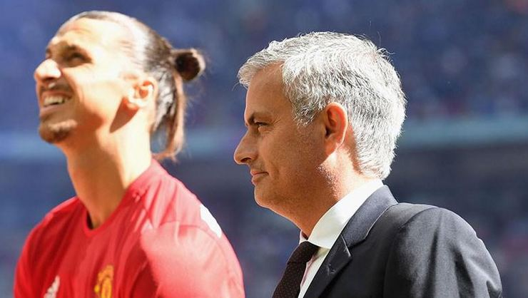 Zlatan Ibrahimovic'ten Jose Mourinho'ya destek!