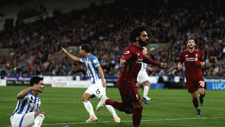 Liverpool'a galibiyeti Salah getirdi