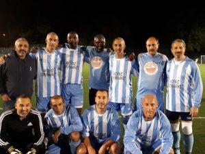 Veteran Liglerinde Akdeniz'den gol-şov