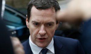 Eski Maliye Bakanı George Osborne'dan açıklama