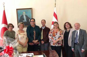 Limassol Association UK visited Oya Tuncalı