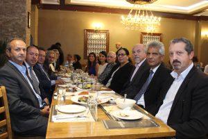 Muhafazakar Parti'nin Kıbrıslı Türkleri, dostluk yemeğinde buluştu