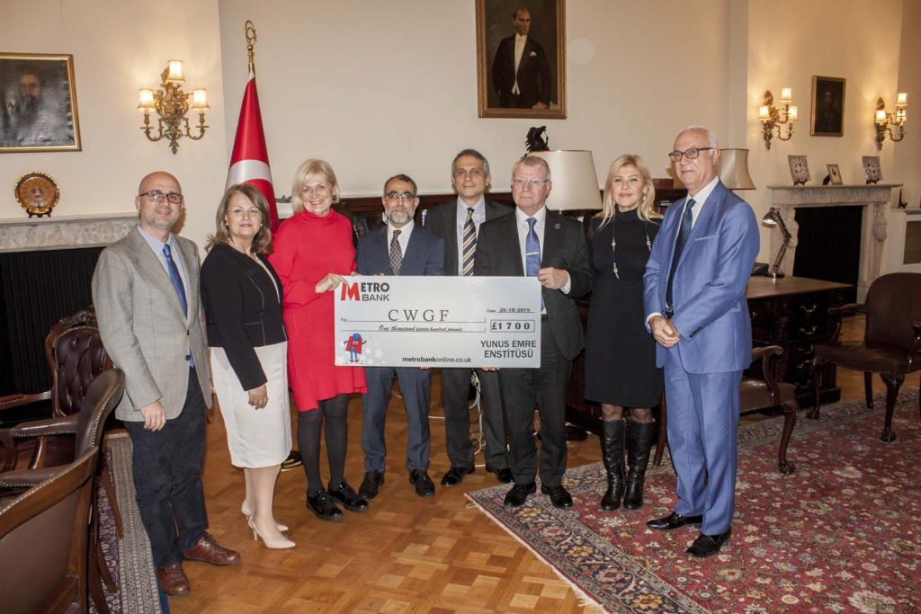 London Yunus Emre Institution grants to the Commonwealth War Graves Foundation