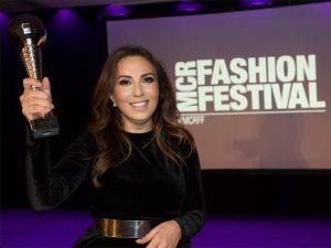 Zeynep Kartal awarded as the 'Best Fashion Designer'