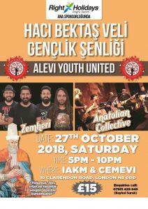 Alevi youth will meet at Haci Bektaş Veli Festival