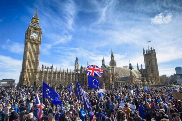 Over half a million march for a second referendum