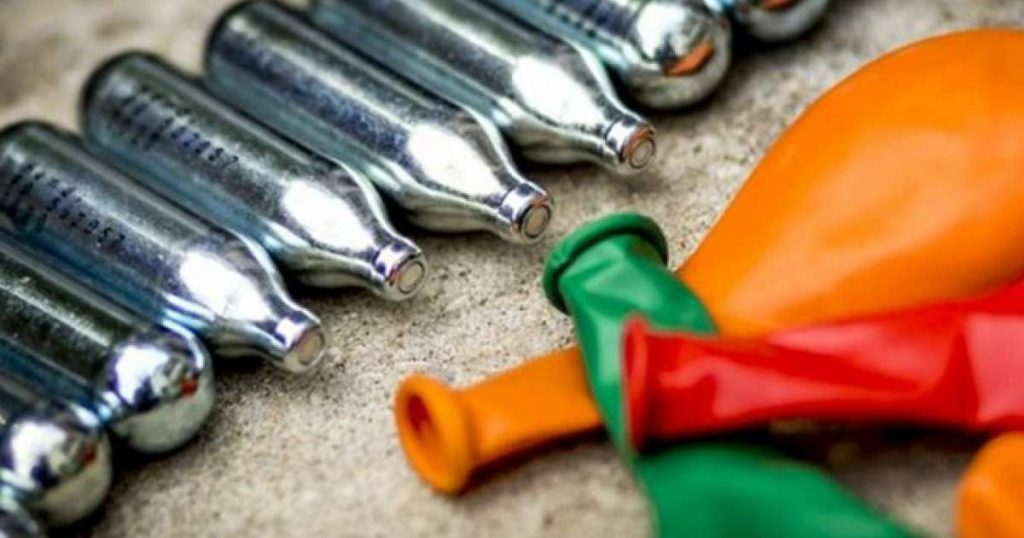 'Laughing gas' teenager dies after collapsing