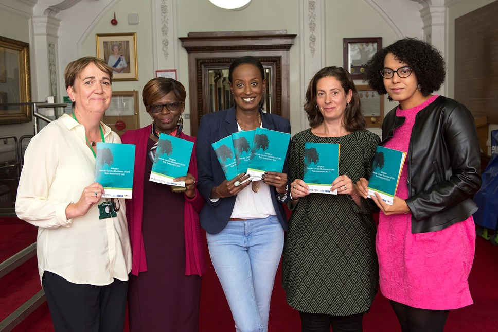 Leyla Hussein helps launch Islington's new guide to tackling FGM