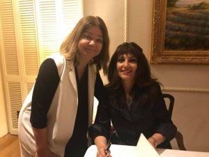 Semra Eren-Nijar introduced her new book
