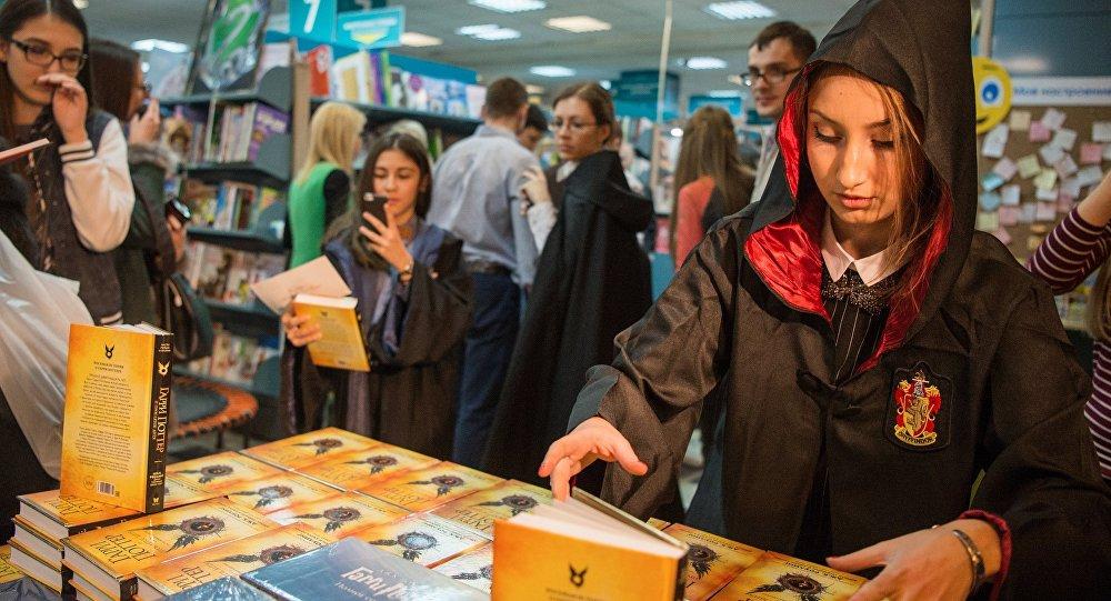 Harry Potter, Hindistan'da bir üniversitede ders oluyor
