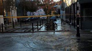 Islington bölgesinde su tehlikesi…