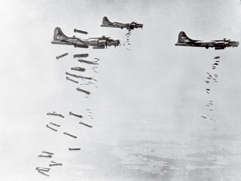 İkinci Dünya Savaşı bombardımanları atmosferde değişikliğe yol açtı
