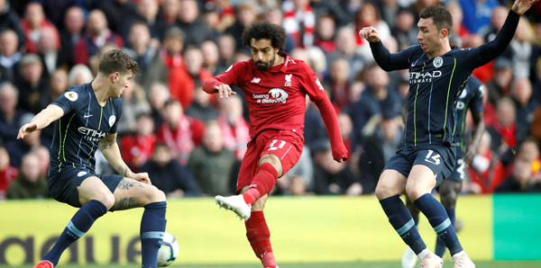 Liverpool-Manchester City maçında sessizlik