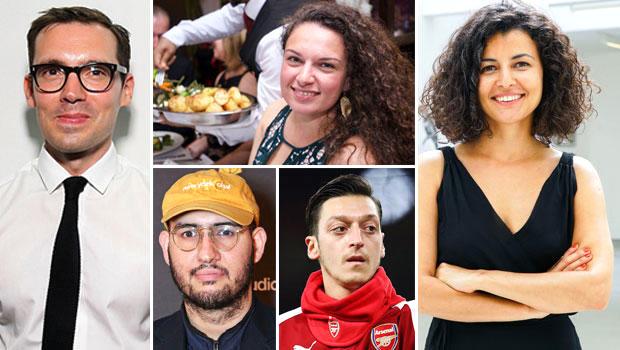 Londra'nın zirvesindeki 5 Türk