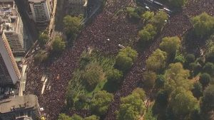Over half a million people march for a 2nd referendum