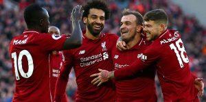 Salah coştu, Liverpool farklı kazandı