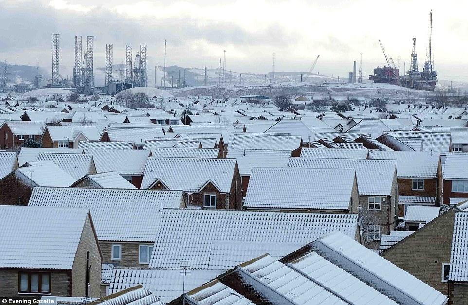 Londra'ya 4 ay kar yağacak